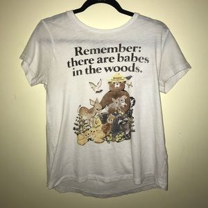 Lucky Brand Smokey the Bear Shirt